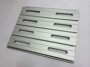 Aluminium Flat Slats with Ventilation Holes Roller Shutters Singapore