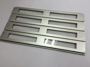 Aluminium Flat Slats with Acrylic Strips Roller Shutters Singapore