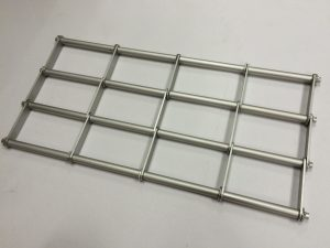Aluminium Roller Grilles with In-Line Design Singapore