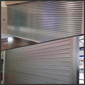 Aluminium and Steel Roller Shutter