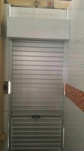 Coffee Shop Aluminium Flat Slats Roller Shutters
