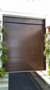 Powder Coated Motorized Aluminium Roller Shutters