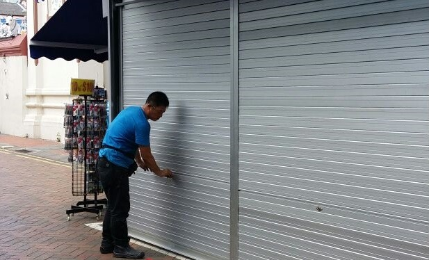 Roller Shutter Repair in Singapore