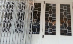 roller shutter replaces foldable doors and gates