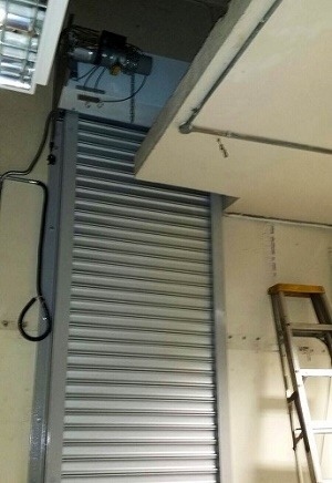 Hotel Fired Rated Roller Shutters Singapore