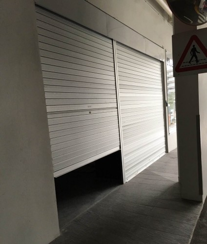 Retail Shop Manual and Motorized Aluminium Roller Shutters