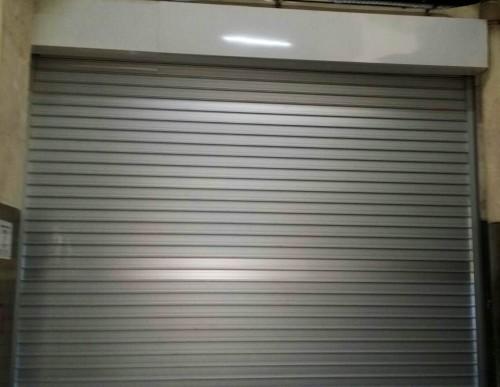Tuas Factory Aluminium Roller Shutters