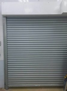 Fire Rated Shutters Relocated for Food Factory Cleanroom