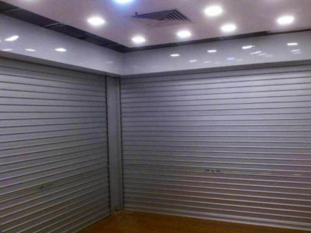 Manual Aluminium Roller Shutters With Removable Angle Mullion