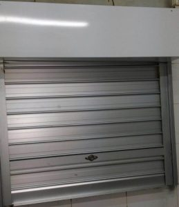Roller Shutters Installed for Retail Shop Food Counter