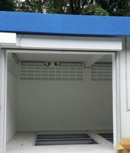 Why it is advisable to choose Motorised over Manual Roller Shutters if your entrance is a huge one