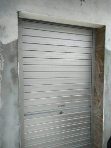 Manually Operated Aluminium Roller Shutters for Coffee Shop at Anchorvale Road