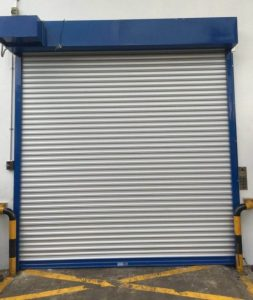 Fire Rated Shutters at Benoi Place Factory
