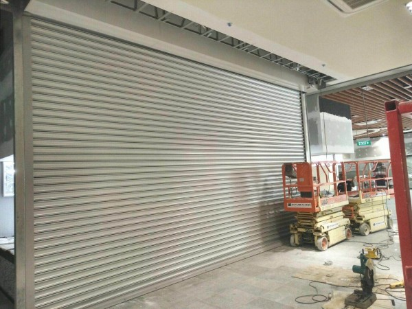 Fire Rated Shutters for Food Court at Woodlands Link