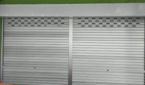 Manual Aluminium Roller Shutters for Joo Chiat Place Retail Food Stall