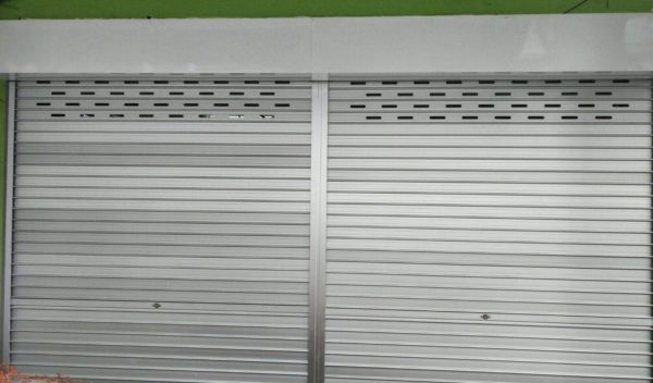 Manual Aluminium Roller Shutters for Joo Chiat Place Retail Food Stall