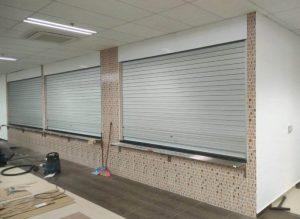 3 Panels of Aluminium Shutters for Loyang Way Bus Depot