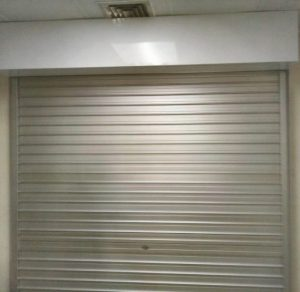 Aluminium Roller Shutters Installed for Potong Pasir Office Main Entrance