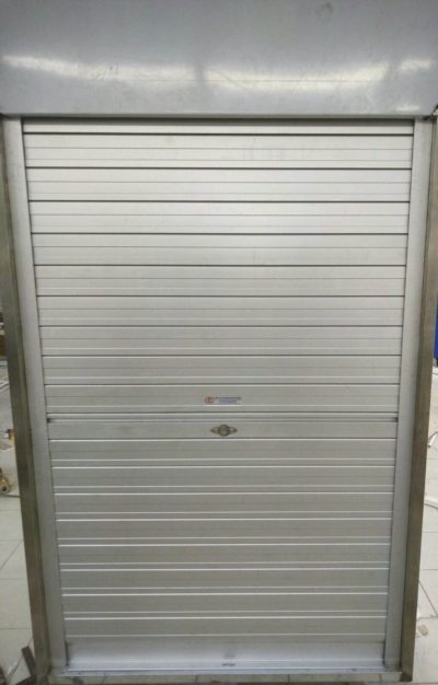 Aluminium Roller Shutters for Newly Renovated Supermarket Storage Cabinet