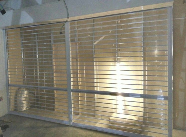 Multi Vision Panel Shutters for Serangoon Nex Shopping Mall