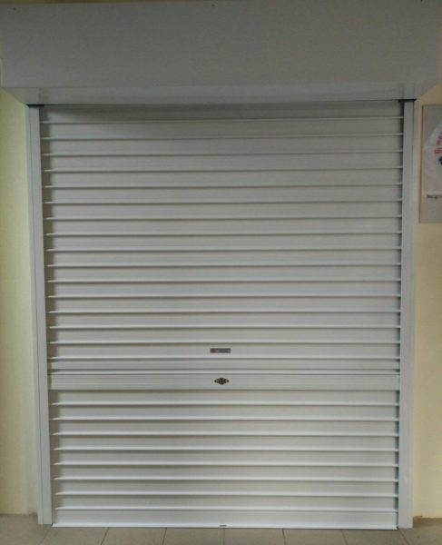 Sin Ming Road Void Deck Activity Centre Powder Coated Roller Shutters