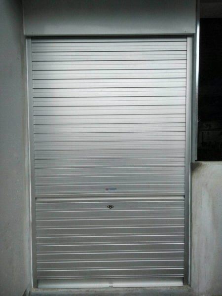 Supply and Install 2 Sets of Manual Roller Shutters for Loyang Way Factory