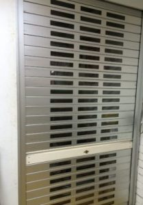 Roller Shutters with See Through Feature