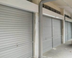 9 New Sets of Manual Aluminium Roller Shutters Installed for Sin Ming Road Coffeeshop