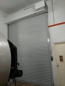 2-Hour Fire Rated Shutters Completed for Factory at Gul Way
