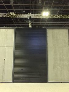 Powder Coated Aluminum Shutter Panel (Black) for Car Exhibition