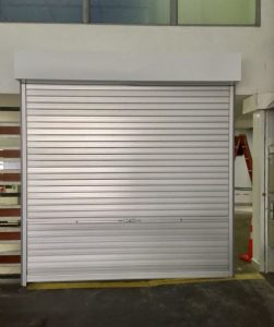 Four Sets of New Manually Operated Aluminium Roller Shutters Installed at MacPherson Community Club